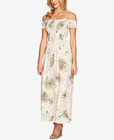 CeCe Off-The-Shoulder Maxi Dress