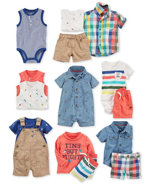 3cbb7b100 Carter s Baby Boys Cotton Separates   Reviews - Sets   Outfits - Kids ...