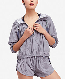 Free People FP Movement Aurora Mesh-Contrast Jacket