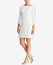 Lauren Ralph Lauren Bell-Sleeve Shift Dress