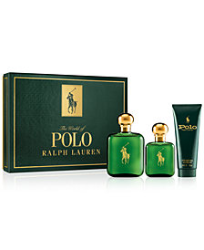 Ralph Lauren Men's 3-Pc. Polo Gift Set