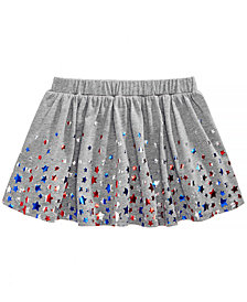 Epic Threads Little Girls Star-Print Skirt, Created for Macy's