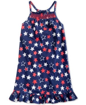 Epic Threads Little Girls Printed SmockedFront Dress Created for Macys