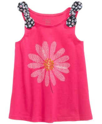 Baby Girls Graphic-Print Tank Top Tunic, Created for Macy's