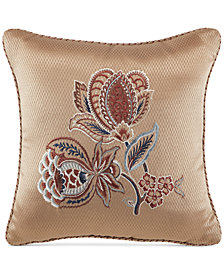 "Croscill Brenna 16"" x 16"" Fashion Decorative Pillow"