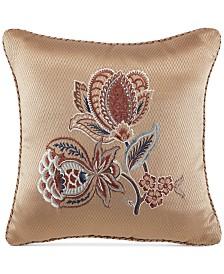 "Croscill Brenna 16"" x 16"" Fashion Decorative Pillow"
