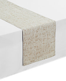 """Waterford Monroe Taupe 14"""" x 72"""" Table Runner"""