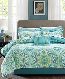 Serenity 9-Pc. Queen Comforter Set