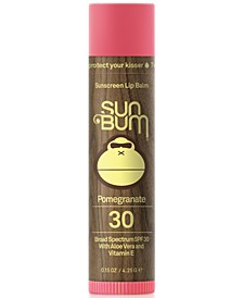 Sunscreen Lip Balm - Pomegranate