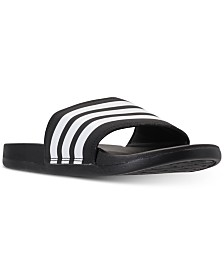 adidas Women's adilette Cloudfoam Plus Slide Sandals from Finish Line