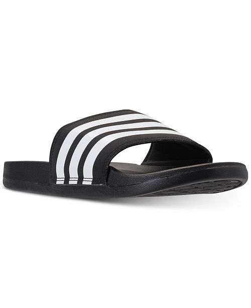 huge selection of cd443 775c8 ... adidas Womens adilette Cloudfoam Plus Slide Sandals from Finish ...