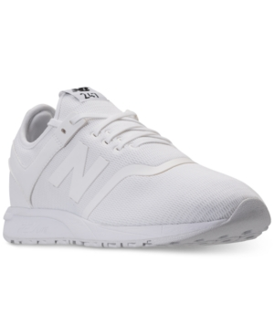 43da8d0c4be42 NEW BALANCE MEN'S 247 CASUAL SNEAKERS FROM FINISH LINE, WHITE | ModeSens