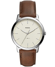 Minimalist Collection Leather Strap Watches