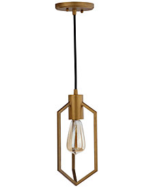 "Safavieh Eastwood 6"" Dia Adjustable Pendant"