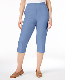 Alfred Dunner Daydreamer Pull-On Capri Pants