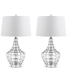 Safavieh Set of 2 Olga Table Lamps
