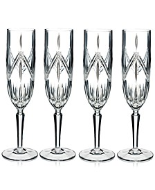 Lacey Flutes, Set of 4
