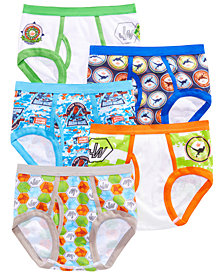 Jurassic Park  Little & Big Boys 5-Pk. Cotton Briefs