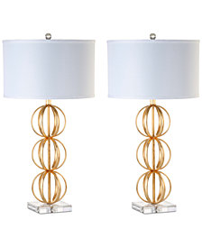 Safavieh Set of 2 Annistyn Table Lamps