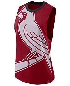 Women's St. Louis Cardinals Dri-Blend Muscle Mesh Tank
