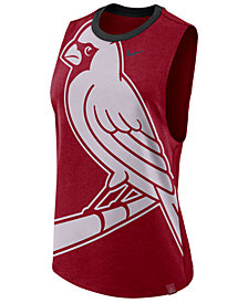 Nike Women's St. Louis Cardinals Dri-Blend Muscle Mesh Tank