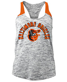 5th & Ocean Women's Baltimore Orioles Space Dye Tank