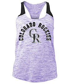5th & Ocean Women's Colorado Rockies Space Dye Tank