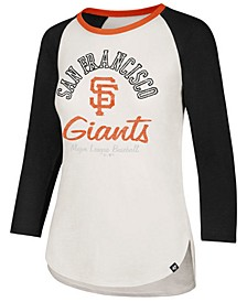 Women's San Francisco Giants Vintage Raglan T-Shirt