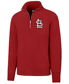 '47 Brand Men's St. Louis Cardinals Headline Quarter-Zip Pullover