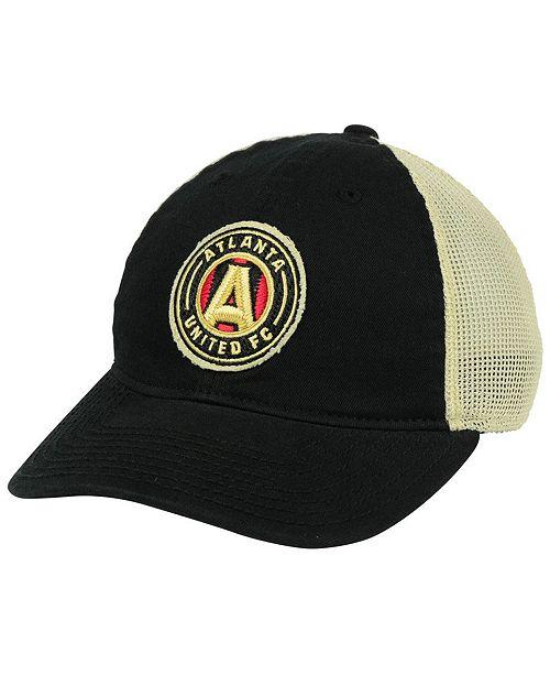 Atlanta United FC Bleached Trucker Cap