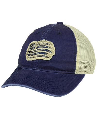 adidas New England Revolution Bleached Trucker Cap