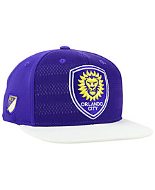 adidas Orlando City SC Authentic Snapback Cap
