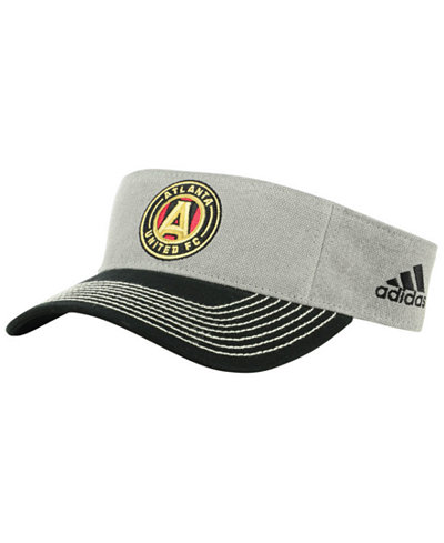 adidas Atlanta United FC Charcoal Visor