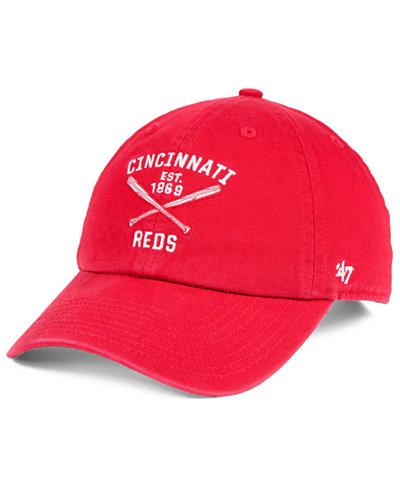 '47 Brand Cincinnati Reds Axis CLEAN UP Cap