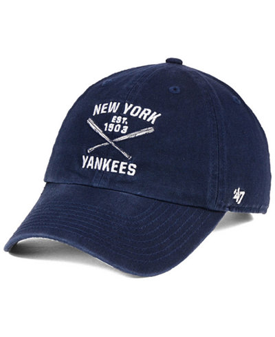 '47 Brand New York Yankees Axis CLEAN UP Cap