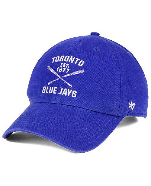 wholesale dealer 7a74f b5a33 ...  47 Brand Toronto Blue Jays Axis CLEAN UP Cap    ...