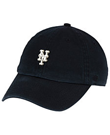 '47 Brand New York Mets Hardware CLEAN UP Cap