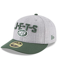 New Era New York Jets Draft Low Profile 59FIFTY FITTED Cap