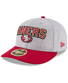 New Era San Francisco 49ers Draft Low Profile 59FIFTY FITTED Cap