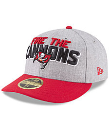 New Era Tampa Bay Buccaneers Draft Low Profile 59FIFTY FITTED Cap
