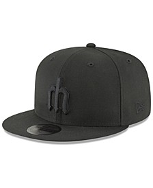 Seattle Mariners Blackout 59FIFTY FITTED Cap