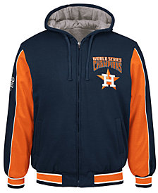 G-III Sports Men's Houston Astros World Series Champion Hooded Fleece Jacket