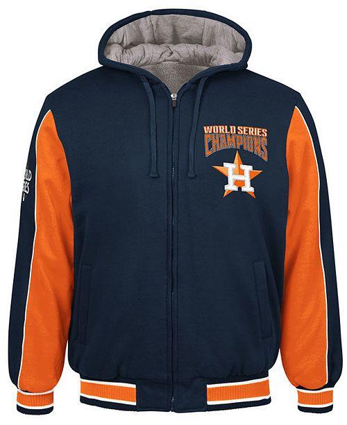 4db34de6f71c ... G-III Sports Men s Houston Astros World Series Champion Hooded Fleece  Jacket ...