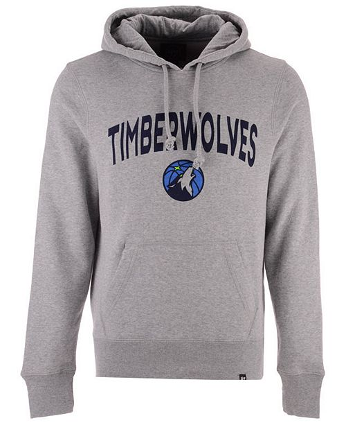 47 Brand Men S Minnesota Timberwolves Pregame Headline Hoodie