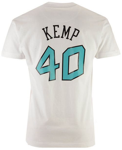 ba8cf8a58 ... Mitchell   Ness Men s Shawn Kemp NBA All Star 1996 Name   Number  Traditional ...