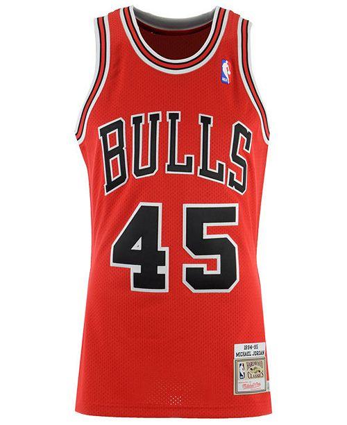 online store cf358 11a69 Men's Michael Jordan Chicago Bulls Authentic Jersey