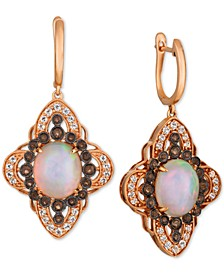 Crazy Collection® Multi-Gemstone Drop Earrings (5-7/8 ct. t.w.) in 14k Rose Gold