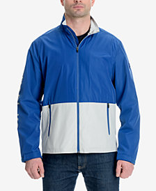 Michael Kors Men's Colorblocked Logo-Print Windslicker Jacket
