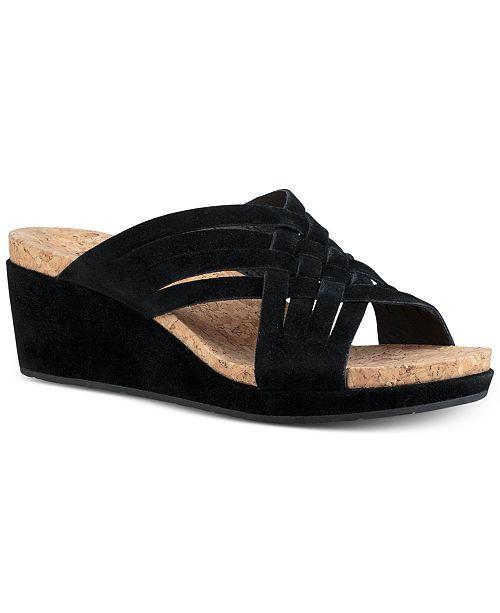 UGG® Women s Lilah Wedge Sandals   Reviews - Sandals   Flip Flops ... 47ca1347b