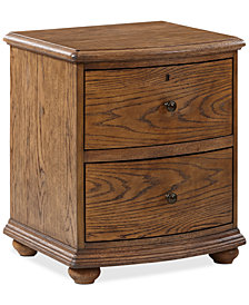 Cascade Bedside Nightstand, Quick Ship